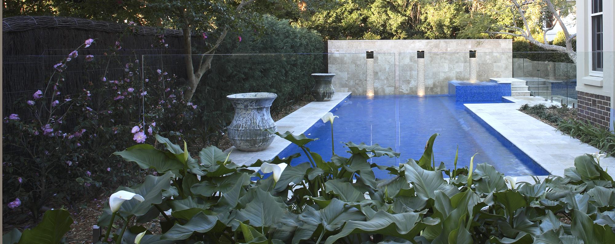 Peter glass kambala for Pool designs under 30000